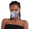 Blue Fashion Casual Print Face Protection