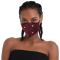 Red Fashion Casual Print Face Protection