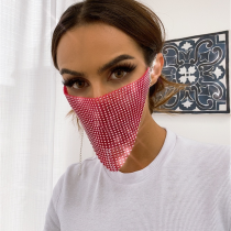 Rose Red Fashion Casual Face Protection