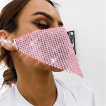 Pink Fashion Casual Face Protection