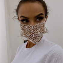 Silver Fashion Casual Face Protection