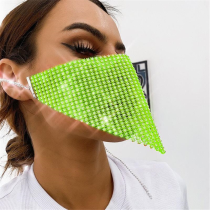 Fluorescent Green Fashion Casual Face Protection
