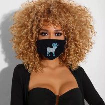 Aries Fashion Casual Print Face Protection
