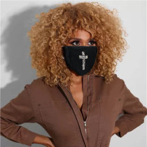 Cross Fashion Casual Print Face Protection