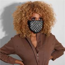 Plaid Fashion Casual Print Face Protection