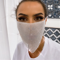 White Fashion Casual Face Protection