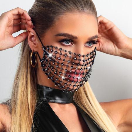 Black Fashion Casual Face Protection