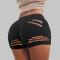 Black Fashion Sexy Skinny Solid Shorts