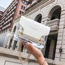 White Fashion Casual Shoulder Messenger Bag