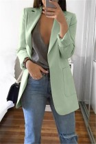BeanGreen Casual Long Sleeves Suit Jacket