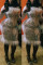 White Fashion Sexy Patchwork Sequins Split Joint O Neck Plus Size Long Sleeve Dress