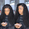 Black Fashion Long Curly Wigs