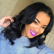 Black Fashion Personality Curly Wigs