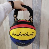 Multicolor Fashion Creative Basketball Single Shoulder Bags