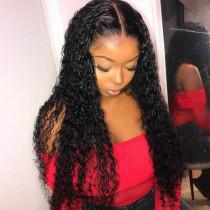 Black Vogue Street Curly Wigs
