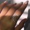 Silver Fashion Chic Ring