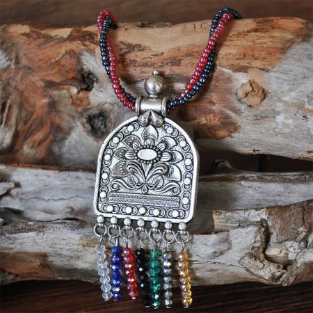 Silver Fashion Bohemian Necklaces Accessories
