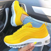 Yellow Fashion Casual Out Door Sports Shoes
