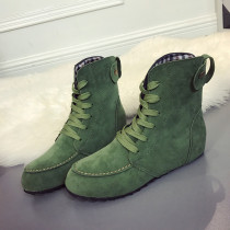 Green Fashion Casual Sweet Round Keep Warm Comfortable Shoes