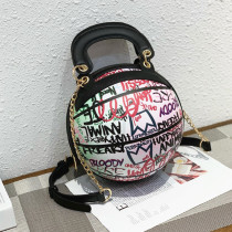 Multicolor Fashion Casual Graffiti Basketball Bags