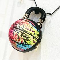Colour Fashion Casual Graffiti Basketball Bags