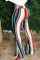 Color blue White Blue Pink Yellow Olive green Color blue Elastic Fly High Striped Loose Pants Bottoms