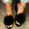 Black Casual Round Out Door Shoes