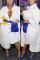 White Fashion Casual Loose Irregular Shirt Dress
