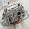 Black Casual Street Patchwork Print Bags