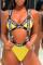 Yellow Bikinis Set
