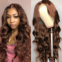 Brown Sexy Sweet Patchwork Wigs