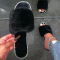 Black Casual Street Hollowed Out Split Joint Hot Drill Opend Comfortable Out Door Shoes