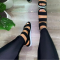 Black Casual Street Hollowed Out Split Joint Opend Comfortable Out Door Shoes