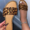 Leopard Print Casual Street Split Joint Opend Comfortable Out Door Shoes