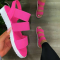 Red Casual Street Hollowed Out Split Joint Opend Comfortable Out Door Shoes