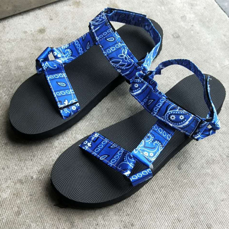 Blue Black Casual Street Split Joint Opend Out Door Shoes