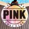 Pink Casual Party Print Graffiti Split Joint Beach Mat