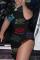 Black Sexy Casual Letter Print Slit O Neck Short Sleeve Dress