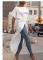 White Sexy Fashion One Word Collar Top