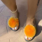Yellow Sexy Casual Hollowed Out Split Joint Opend Comfortable Out Door Shoes