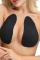 Black Sexy Solid Invisible Bra