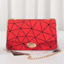 Red Black Fashion Casual Print Chains Messenger Bags