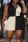 Black Sexy Solid Split Joint Turndown Collar Pencil Skirt Plus Size Dresses