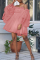 Purple Casual Solid Mesh Off the Shoulder Irregular Dress Dresses