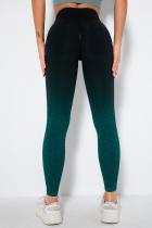 Green Street Sportswear Gradual Change Solid Split Joint