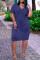 White Fashion Casual Solid Basic V Neck Short Sleeve Dress
