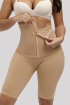 Apricot Fashion Casual Solid Split Joint Bustiers