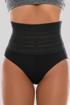 Black Fashion Sexy Solid Split Joint Bustiers