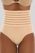 Apricot Fashion Sexy Solid Split Joint Bustiers