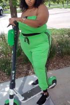 Green Plus Size